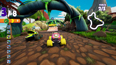 Blaze And The Monster Machines Axle City Racers Game Screenshot 9