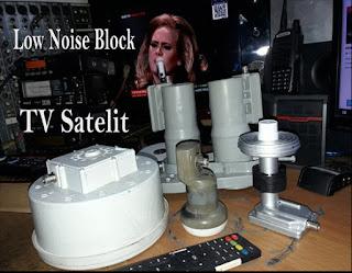 LNB (Low Noise Block) TV Satelit