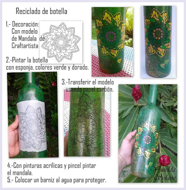 Botella-reciclada-con-mandala