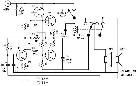 intercom-circuit-diagrams