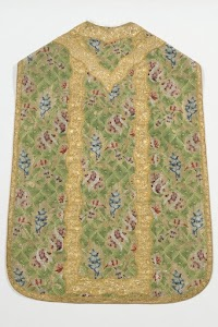 A Summery Green Vestment Set from Venice (ca. 1740-1760)