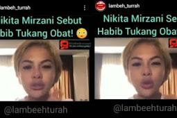Nikita Mirzani Terancam Dipolisikan Terkait Penghinaan Terhadap Habib Rizieq Shihab