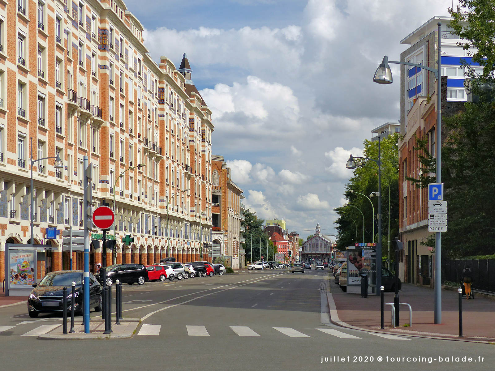 Avenue Gustave Dron, Tourcoing 2020