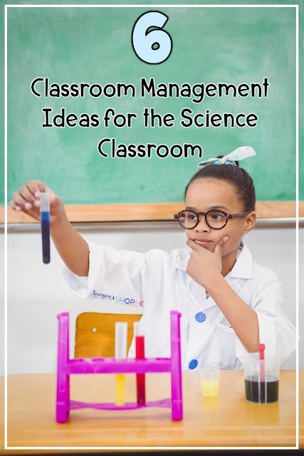 Classroom management ideas and strategies to use in science on he first days of school through the end of the school year