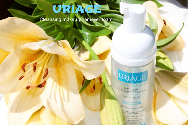 Отзыв: Очищающий мусс для снятия макияжа URIAGE Cleansing Make-up Remover Foam.