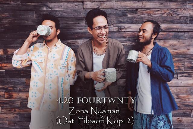 Chord Gitar 4.20 Fourtwnty - Zona Nyaman (Ost. Filosofi Kopi 2)