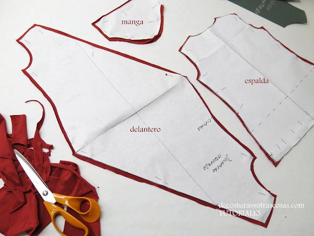 como coser una blusa original y diferente