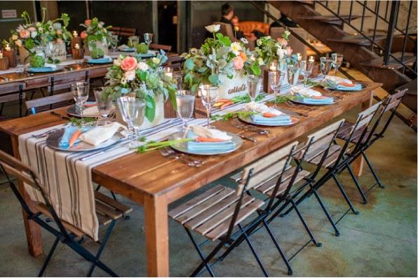 Green wedding ispirazione mercato parigino blog di for Mercato arredamento