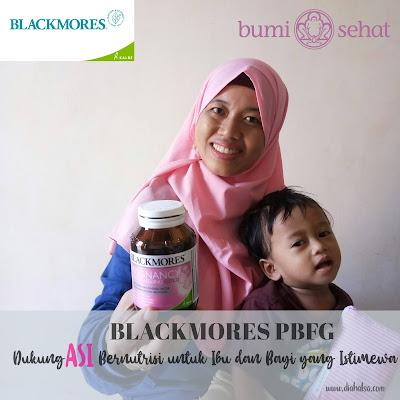 Blackmores PBFG, Dukung ASI Bernutrisi untuk Ibu dan Bayi yang Istimewa