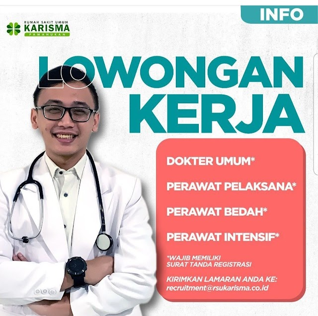 Loker Dokter RSU Karisma Pamanukan- Subang, Jawa Barat
