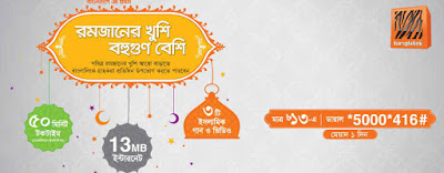 Banglalink Ramadan bundle offer only tk.13