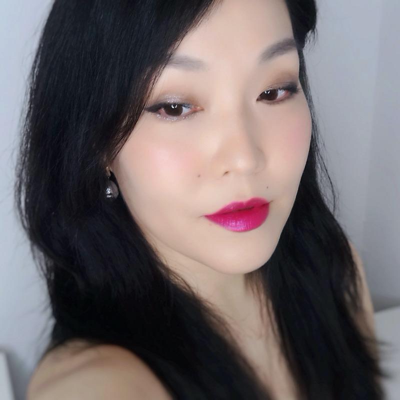 Anna Sui makeup reviews makeup look