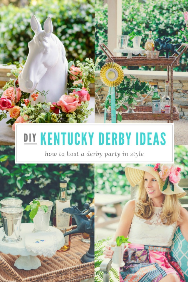 Host a kentucky derby party design improvised