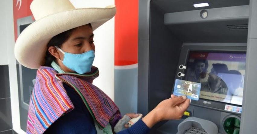 Programa social «Juntos» deposita abonos a más de 45 mil nuevos hogares de Cajamarca y San Martín