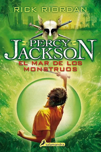 El mar de los monstruos | Percky Jackson y los dioses del Olimpo #2 | Rick Riordan