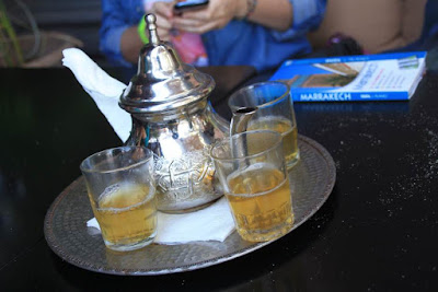 Te a la menta en Marrakech