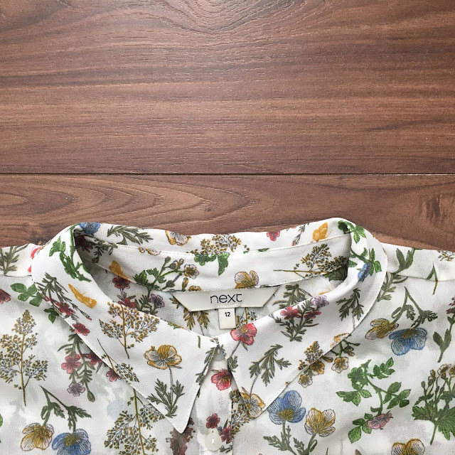 sweet allure fashion getting a little shirty next floral shirt outfit spring
