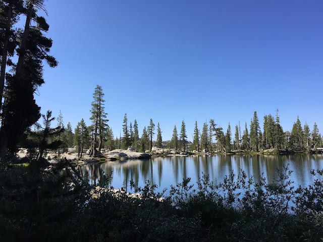 Gem lake from opposite side in morning light