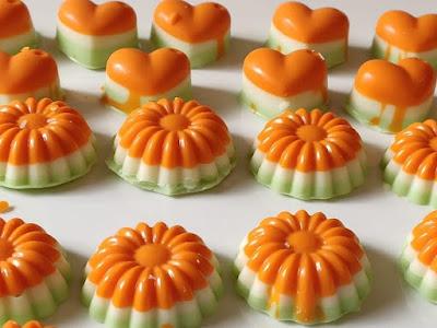 Orange Milky Nutty Chocolates by Designer Chocoland
