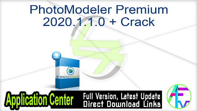 PhotoModeler Premium 2020.1.1.0 + Crack