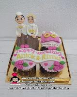 Cupcake Kado Pernikahaan