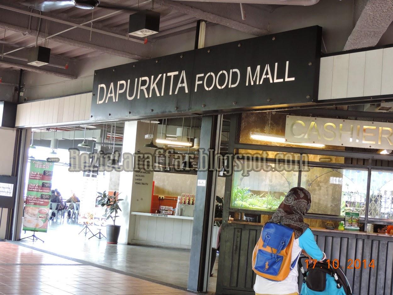 Pintu Masuk Food Courts Tu