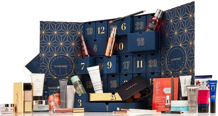 LOOKFANTASTIC BEAUTY ADVENT CALENDAR 2019 spoilers and contents