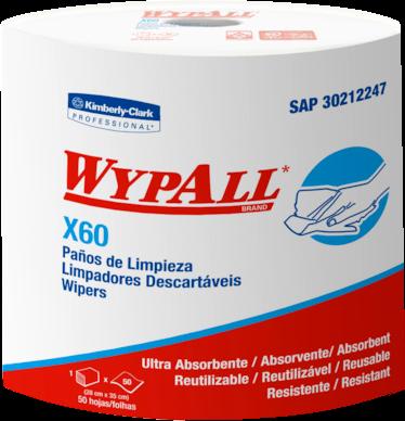 PAÑO DE LIMPIEZA INDUSTRIAL WYPALL X60