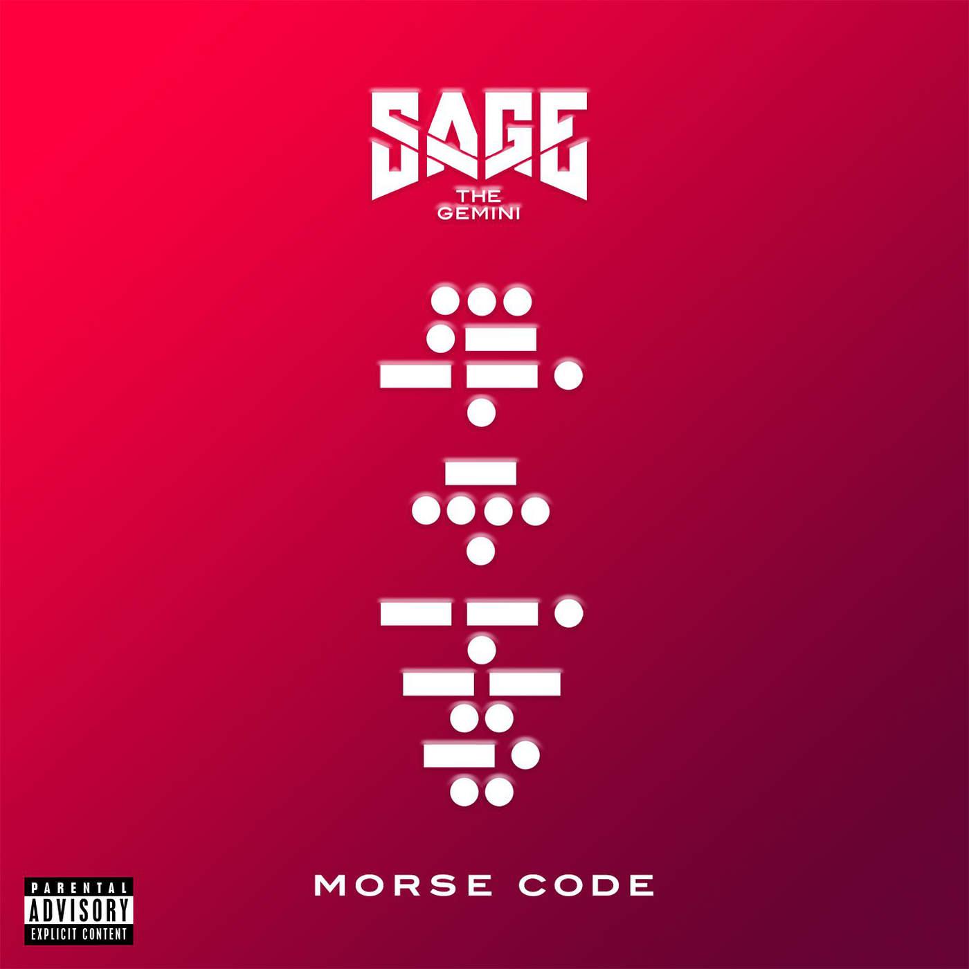 Sage The Gemini - Morse Code Cover