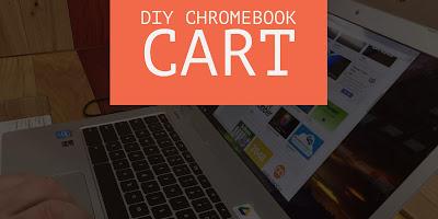DIY Chromebook Cart