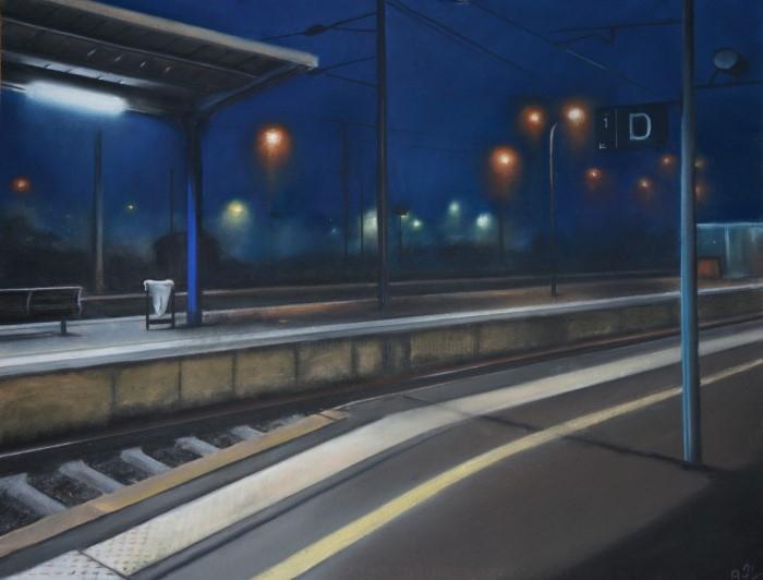 Ночь - это свет. Alain Fortier