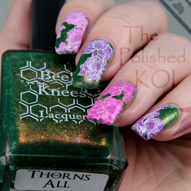 Bee's Knees Lacquer Thorns and All & CJS On The Pond