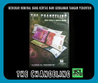 TOKO SULAP JOGJA THE CGHANGELING MAGIC