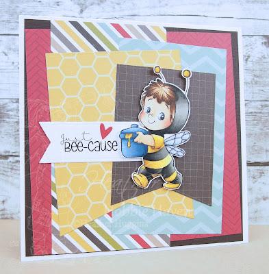 Heather's Hobbie Haven - Bee Henry Card Kit