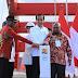 Mendagri, Plt Kapolri dan Panglima TNI Dampingi Presiden Resmikan Jembatan Youtefa di Jayapura