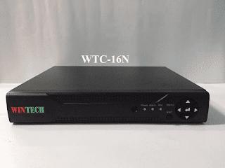 Đầu ghi hình camera 16 kênh 5 trong 1 WTC-16N WinTech