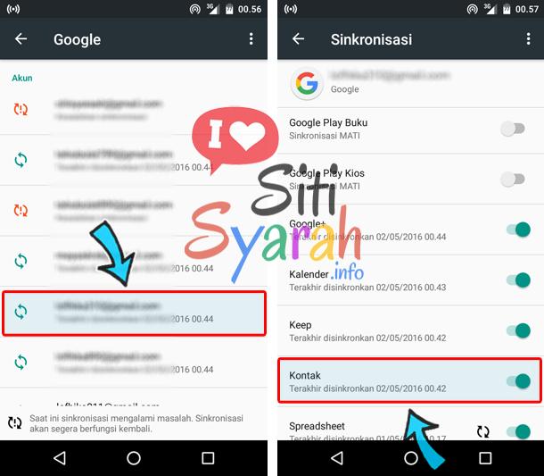 copy kontak dari android ke iPhone