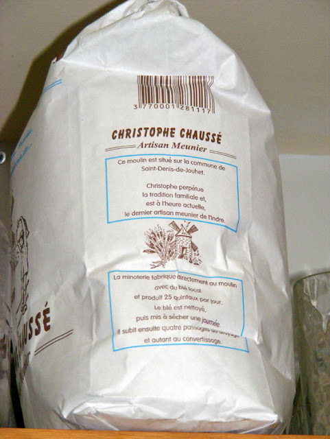 Stoneground flour. Photo by Loire Valley Time Travel.