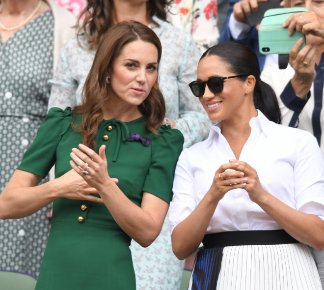 "Meghan Markle told friends ""changes would have been made"" if Kate Middleton were the one getting bullied by tabloids"