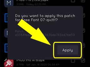How to Patch and Apply Custom Font using Imod Pro Application