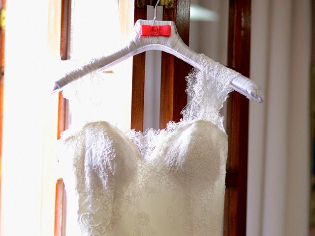 Casamento - Dia da Noiva - Vestido - Cabide Personalizado