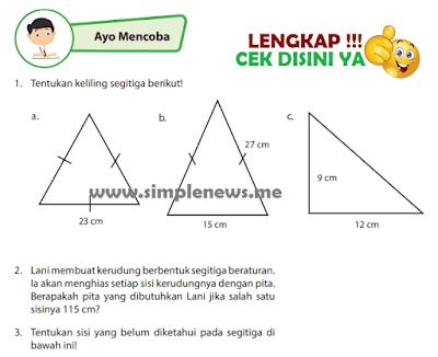 Kunci Jawaban Halaman 125 126 Kelas 4 Senang Belajar Matematika Kurikulum 2013 www.simplenews.me