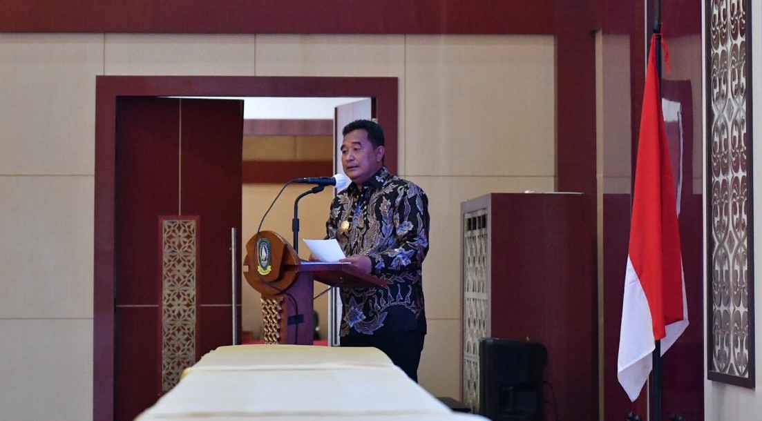 Pimpin Rakor, Pjs Gubernur Kepri : Pemprov Kepri Sudah Siap dan Optimis Penyelenggaran Pilkada 2020 Berjalan Sukses