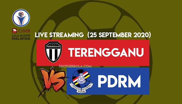 Live Streaming Terengganu vs PDRM Liga Super 25.9.2020
