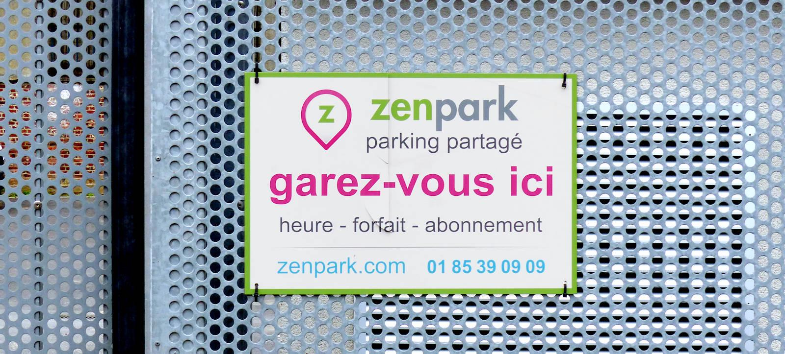 Parking Tourcoing Zenpark Victoire, rue Sasselange.