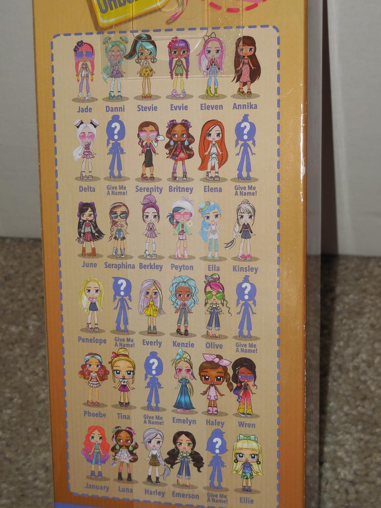 Boxy Girls Season 3 Dolls Seraphina