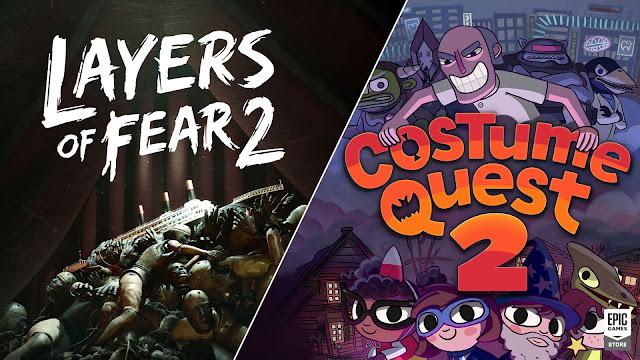 Epic 商店限時免費領取《Costume Quest 2》及《Layers of Fear 2》