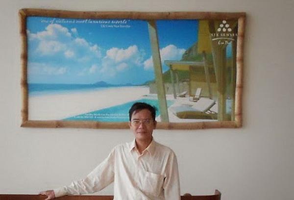 Thanh Trắc Nguyễn Văn tại sân bay Côn Đảo