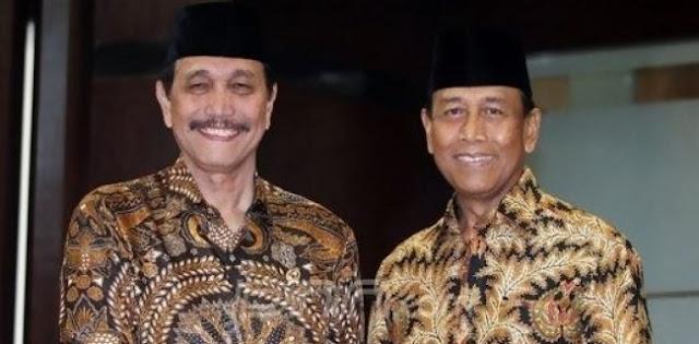Pesan Untuk Jokowi, Jangan Pakai Lagi Wiranto Dan Luhut
