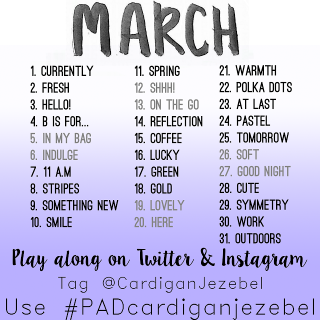 Photo Challenge || March 2016